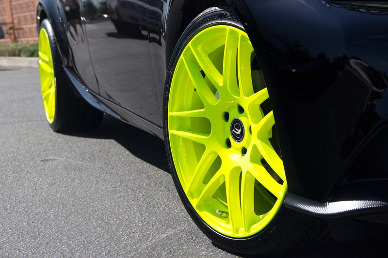 Quick Snap Is250f On Tennis Ball Yellow Forgestar F14 Wheels
