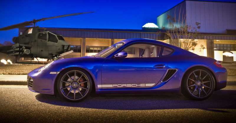 Wo1 Triantos 987 Porsche Cayman On Forgestar Cf10 Wheels