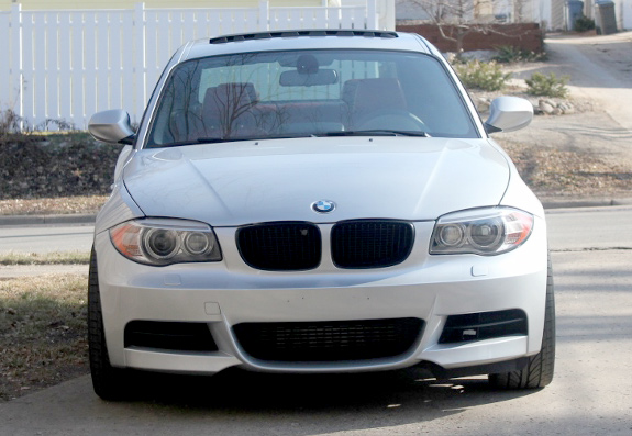 Hutch's Modded BMW 135i Gets Black VMR VB3 Wheels