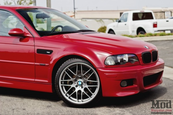Burning Passion: Imola Red E46 BMW M3