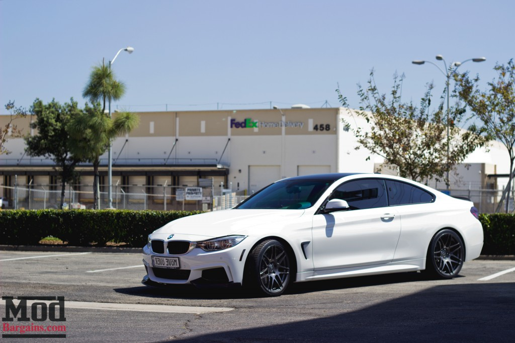 First Look Bmw 435i On Forgestar F14s