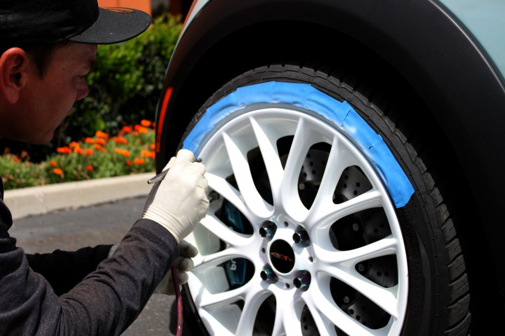 how to fix curbed rims