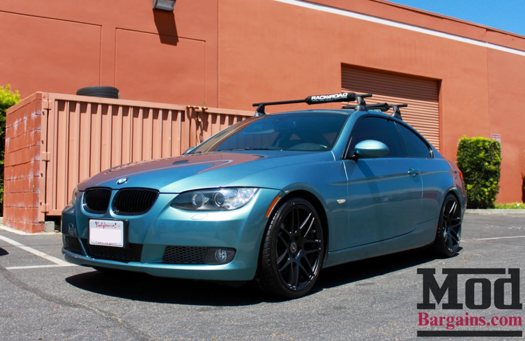 Photos E92 Bmw 335i In Rare Atlantic Blue Stuns On
