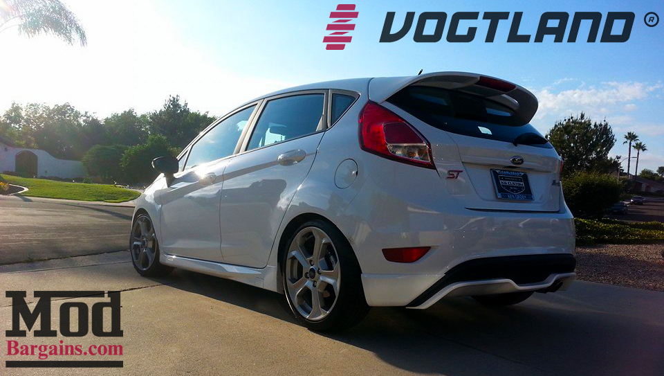 Fiesta Rs 2017 >> Travis N gets LOW with Fiesta ST Lowering Springs from Vogtland