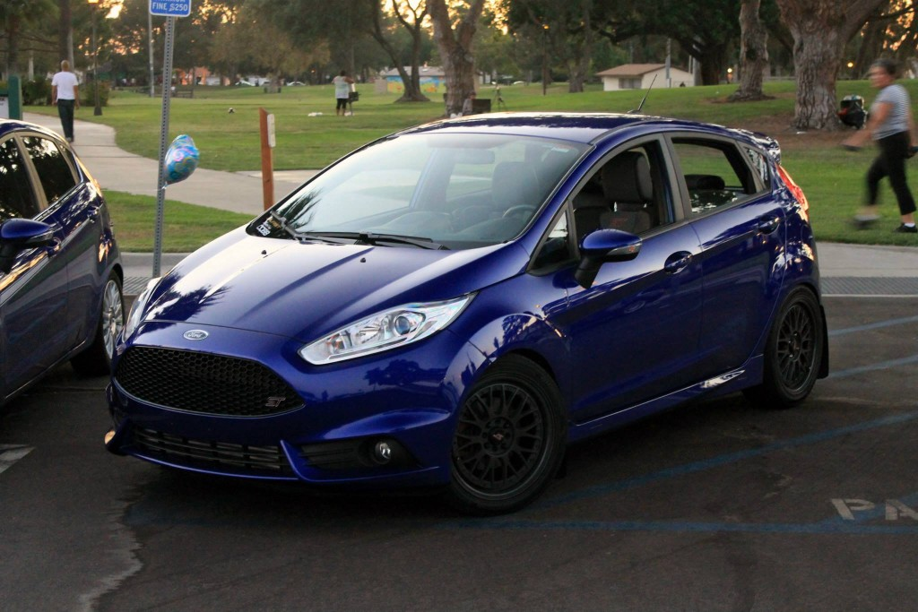 i am titanium one ford fiesta 39 s st transformation at mod auto. Black Bedroom Furniture Sets. Home Design Ideas