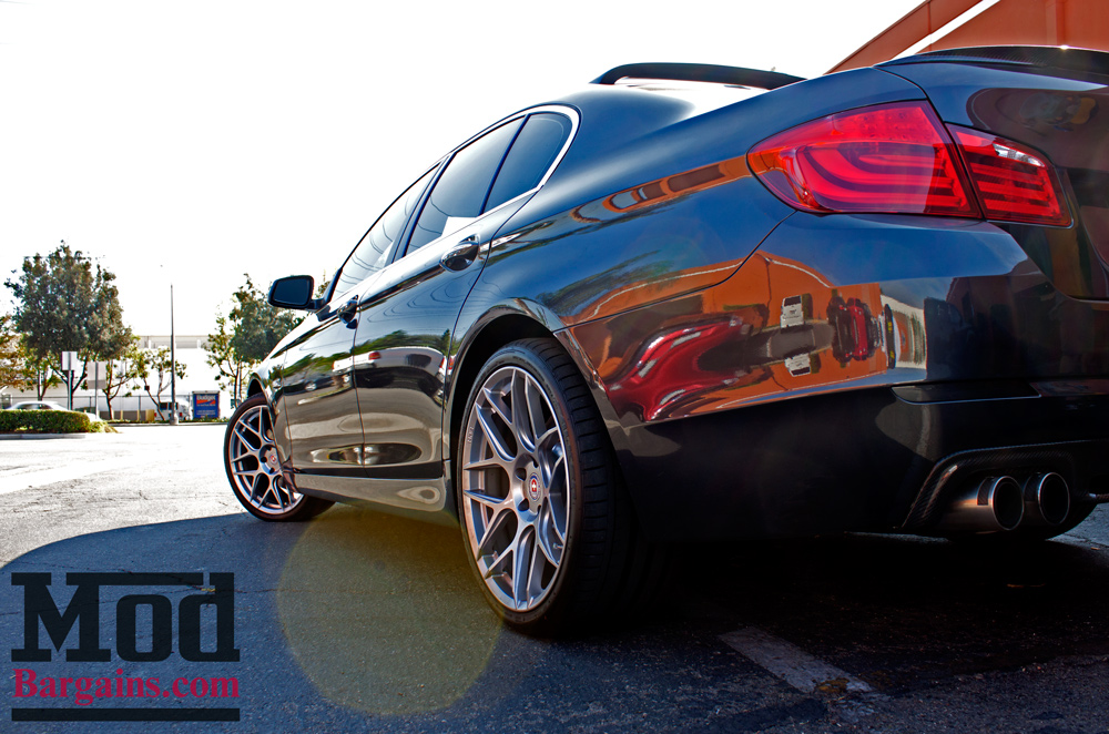 Executive Decision: Allen S' F10 BMW 535i on HRE FF01s Gets The Finishing Touch