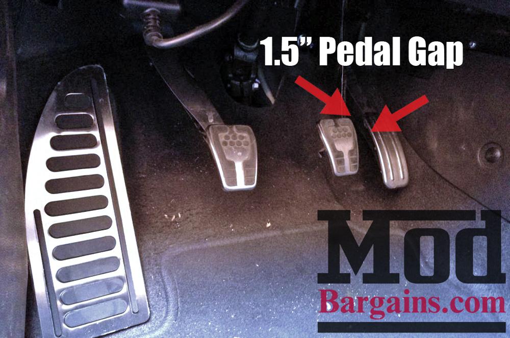 Ford Fiesta ST Pedal Gap