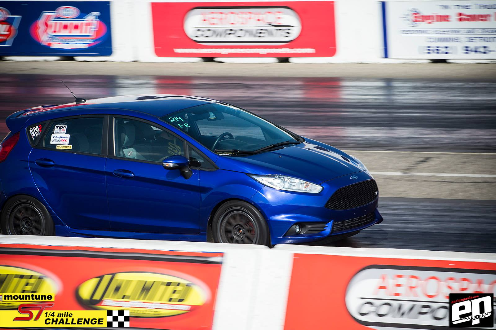 "Project Fiesta ST WINS ""Fastest Fiesta ST"" at Mountune 1/4 Challenge"