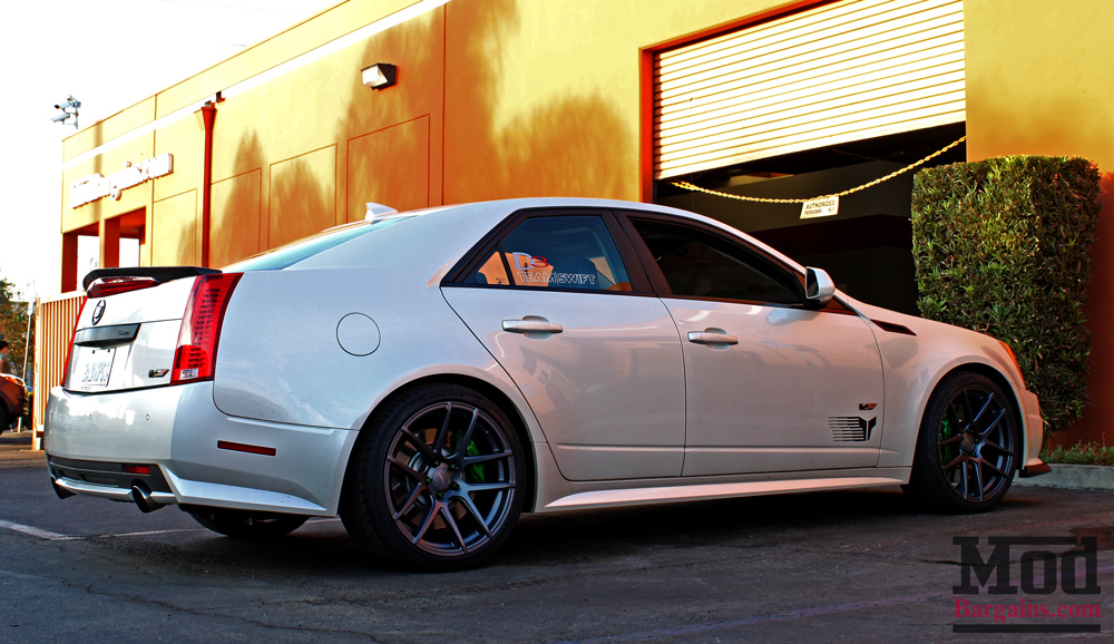 Lowering A Cadillac Cts V With Eibach Pro Kit Springs