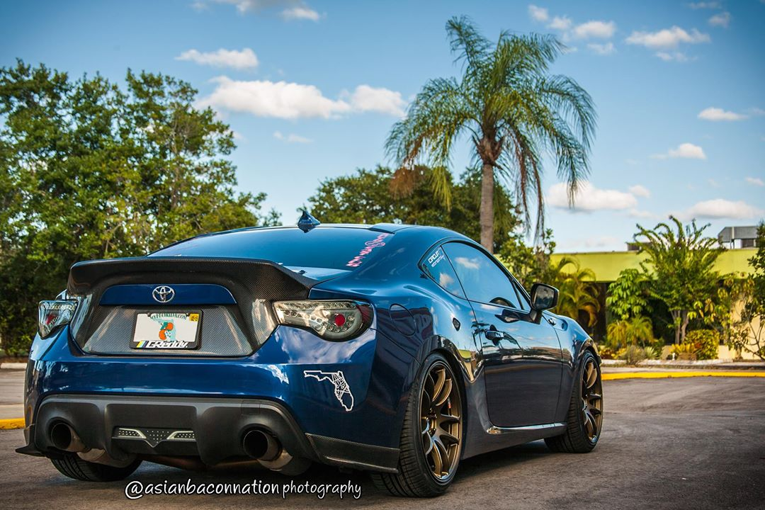 Quick Review: Scion FR-S on Work Emotion CR-Ultimate ...