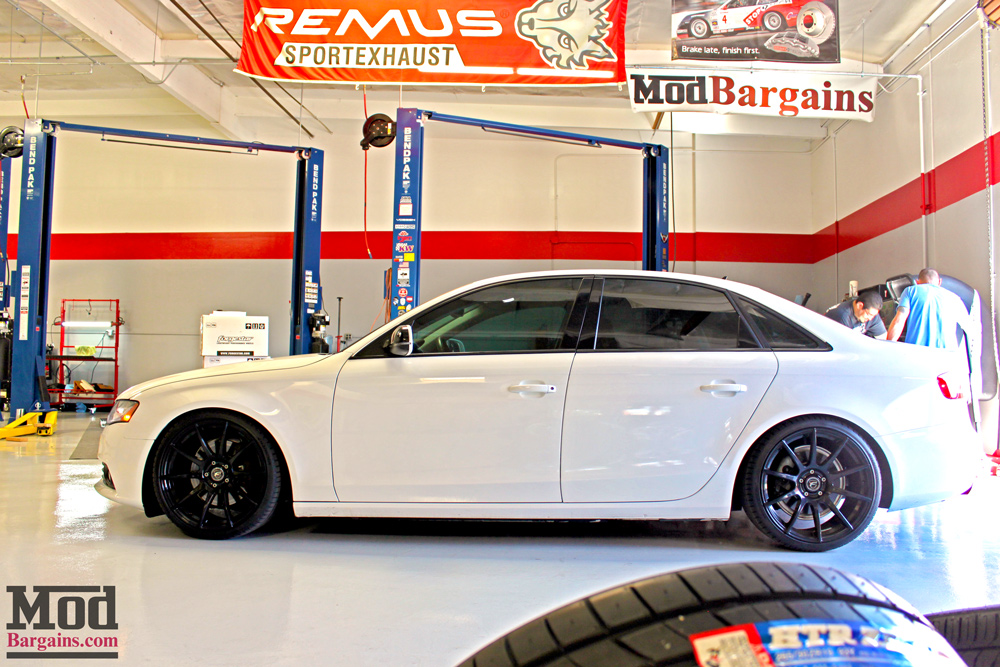 Livin Low B8 Audi A4 St Coilovers Installed With