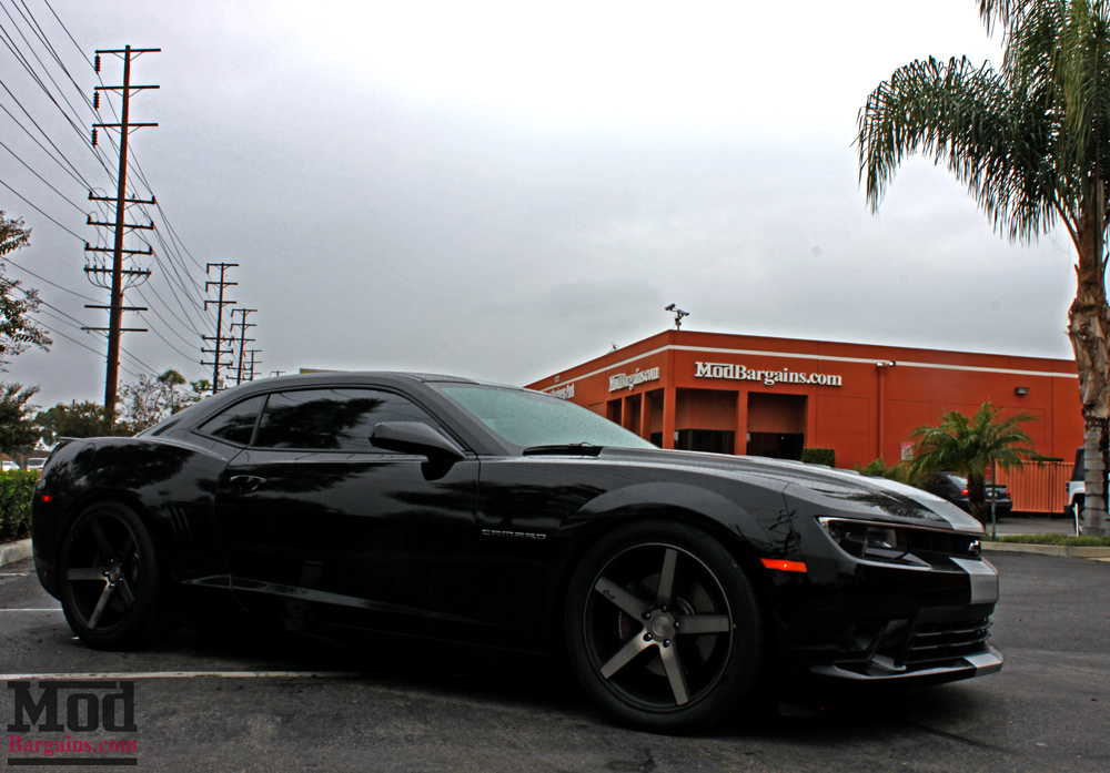 Nitto Invo Tires >> Daniel G's 2014 Camaro SS on Niche Milan M134 Wheels + BC ...