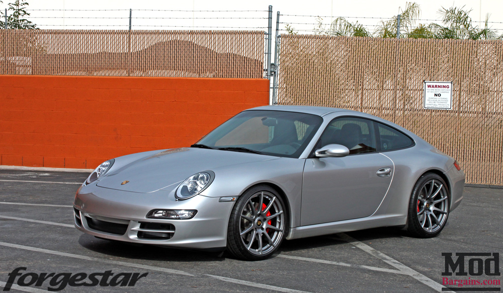 New Shoes 997 Porsche Carrera S On Forgestar Cf10