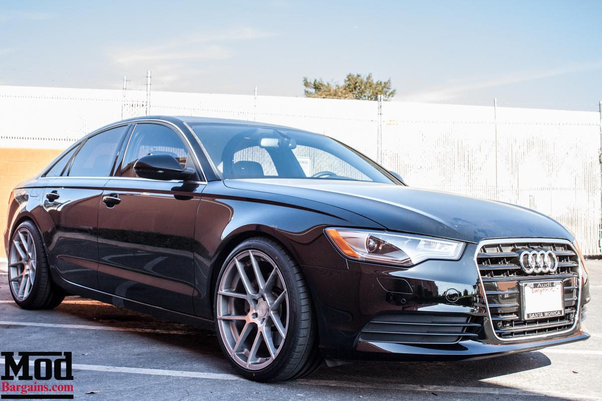 Rolling VIP: Audi A6 on Avant Garde M510 Wheels in ...