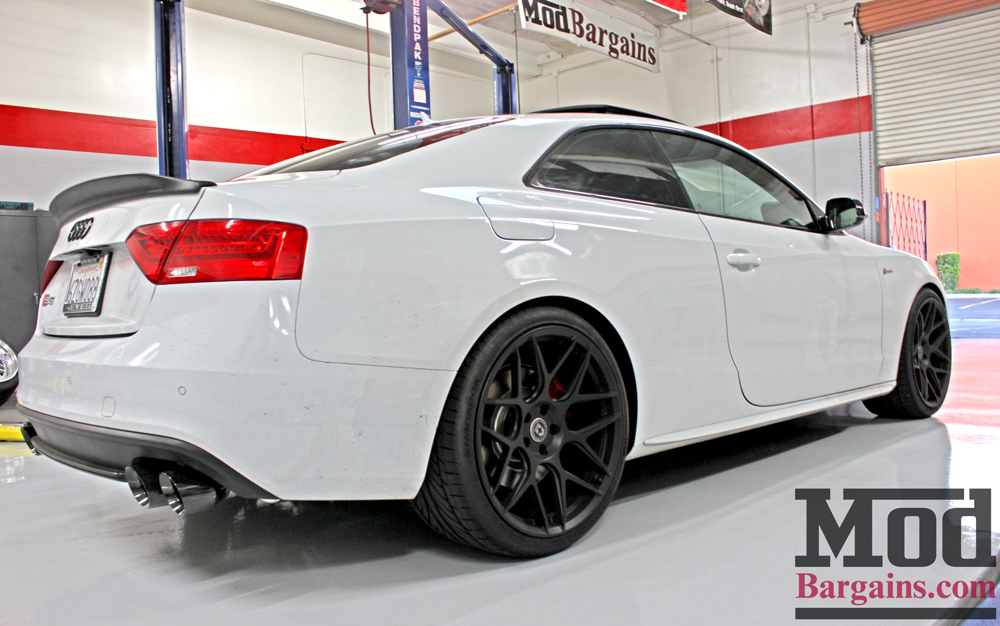Audi S5 On Hre Ff01 Wheels Gets Loud With Awe Tuning