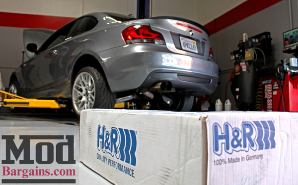 Quick Snap: Ivan's E82 BMW 135i Lowered on H&R Springs + VMR V710 Wheels