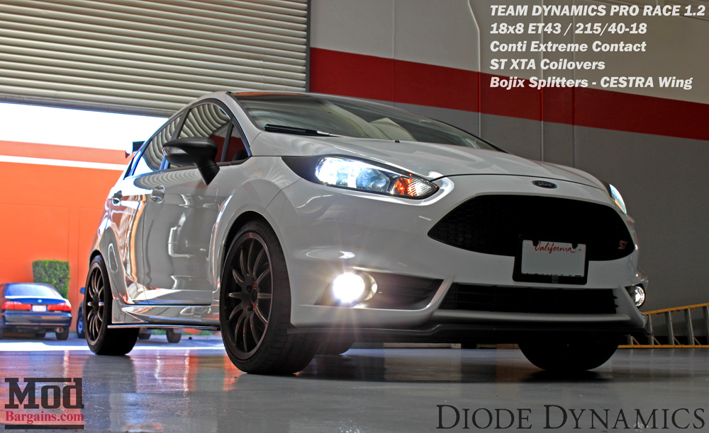 Review: Luxeon LED Fog Lights for Fiesta ST + HID Kit Installed
