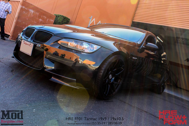 Black On Black E BMW M On HRE FF Wheels - Best bmw wheels