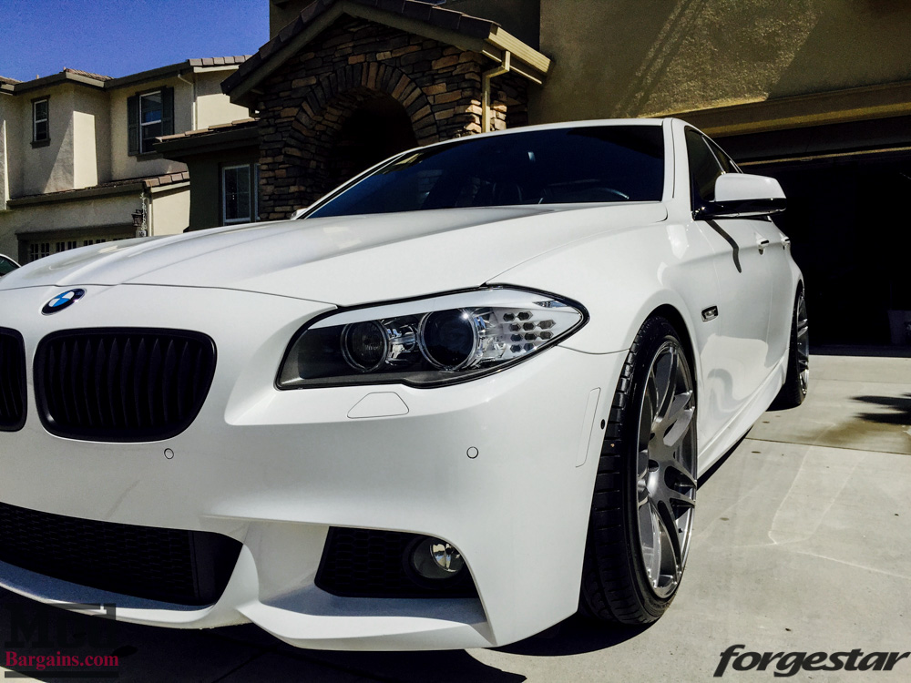 f10 bmw 550i on forgestar f14 20in concave wheels. Black Bedroom Furniture Sets. Home Design Ideas