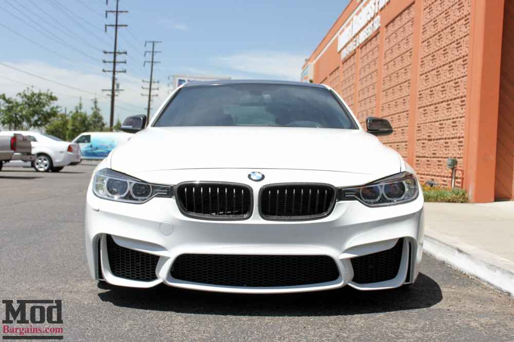 f80 m3 bumper for f30 bmw 3-series installed @ modauto