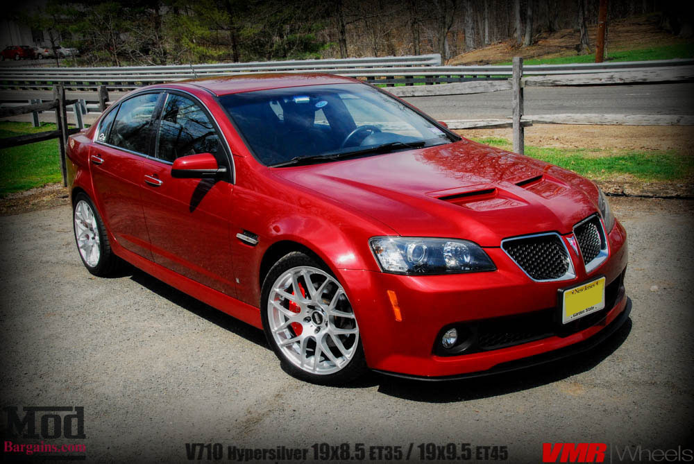 pontiac g8 on vmr v710 wheels how the g8 should be. Black Bedroom Furniture Sets. Home Design Ideas