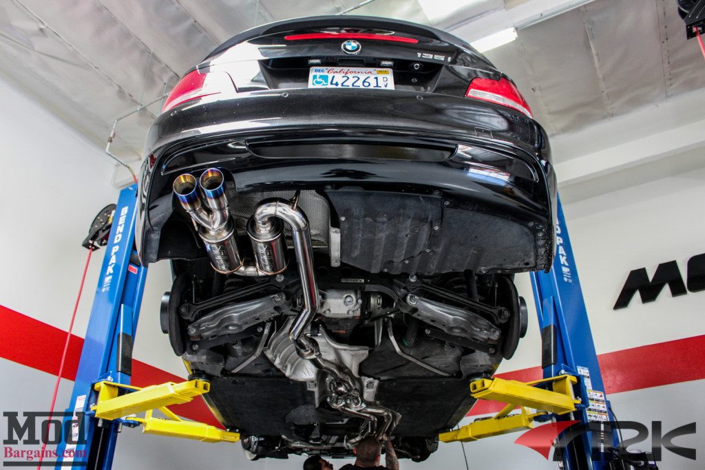 Ark Dt S Cat Back Exhaust For 2008 12 Bmw 135i E82