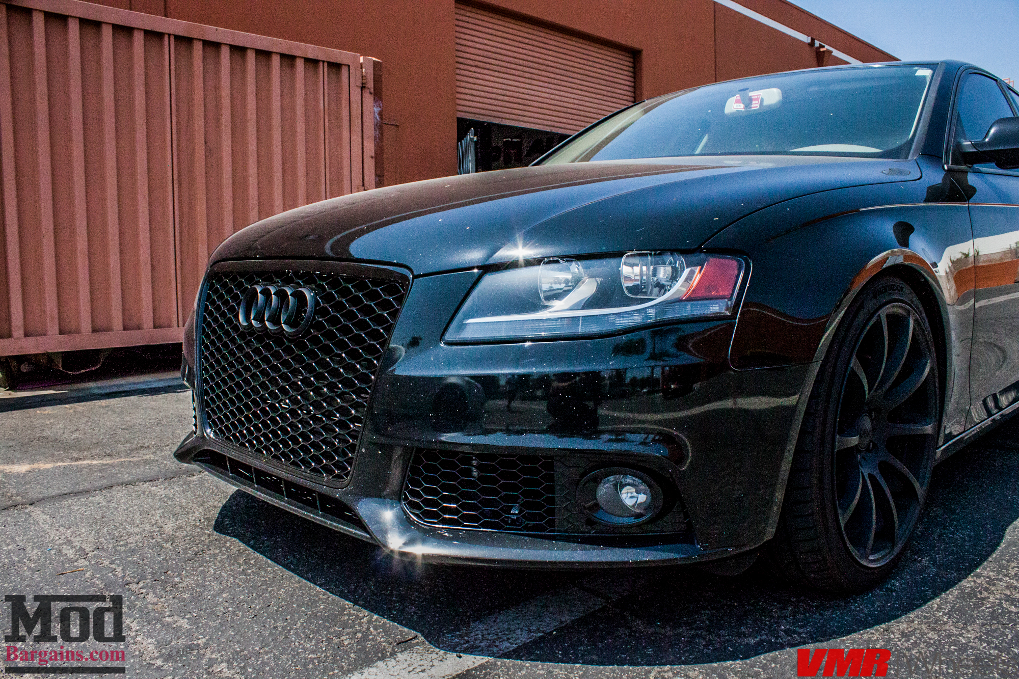 B8 Audi A4 On Solo Werks Coilovers Gets Rs4 Grille