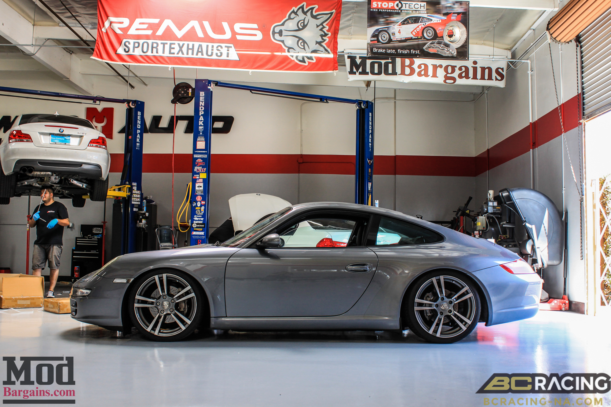 Porsche 997 Carrera On Bc Coilovers Turbo Ii S Modauto