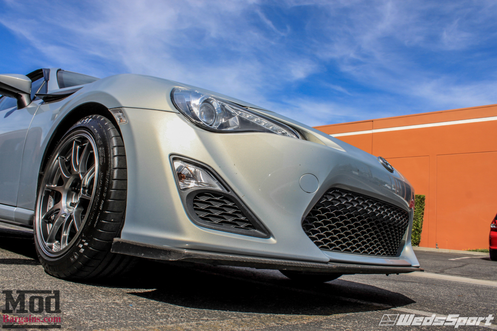 scion fr s on wedsport tc105n wheels trd mods. Black Bedroom Furniture Sets. Home Design Ideas