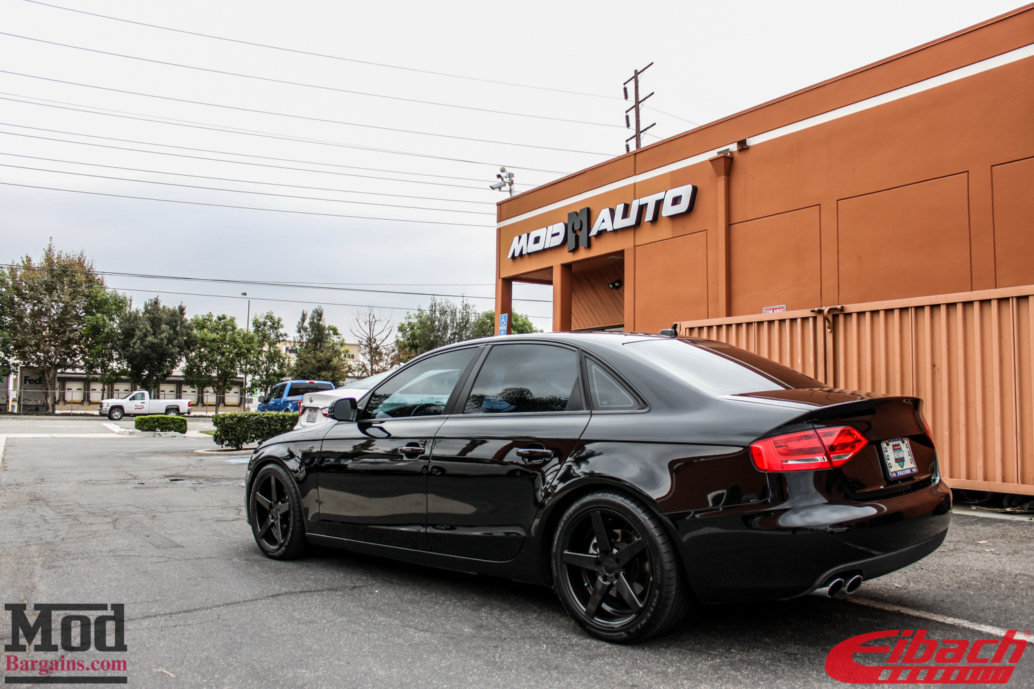B8 Audi A4 Lowered On Eibach Springs Modauto