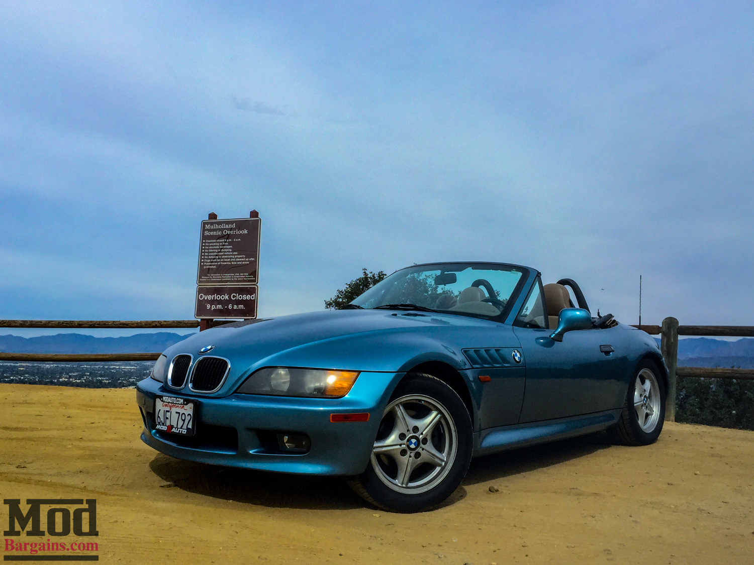 Learning The Importance Of Good Tires In A Bmw Z3
