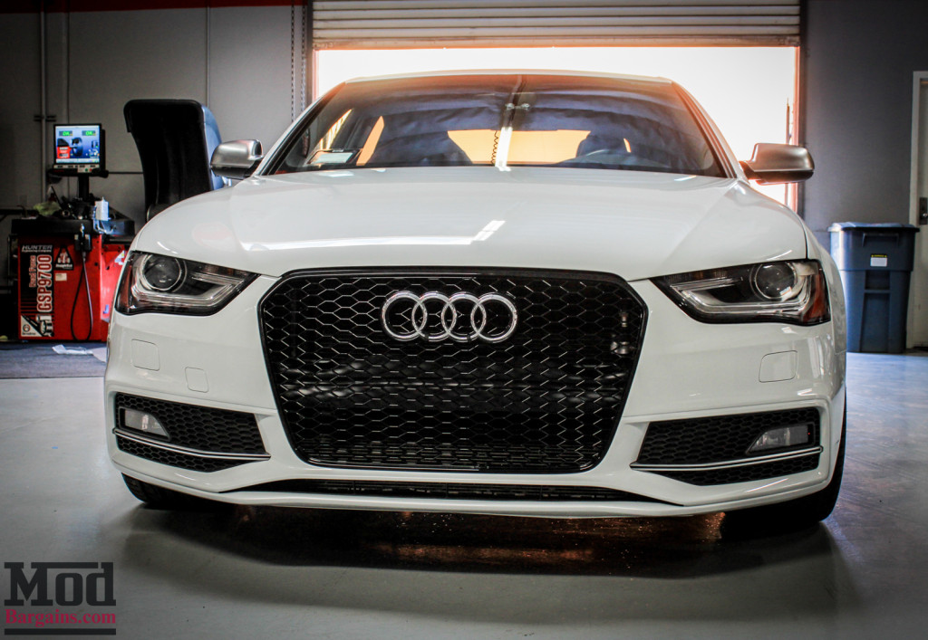 Front Grille For 2009 14 Audi A4S4 B85 RS4 Style