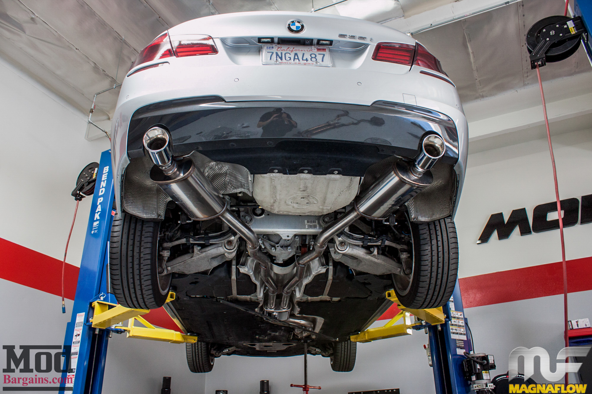 F10 Bmw 535i Magnaflow Exhaust Installed Modauto
