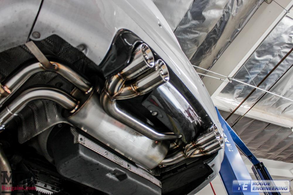 BMW E46 M3 Rogue Engineering El Diablo Exhaust-2