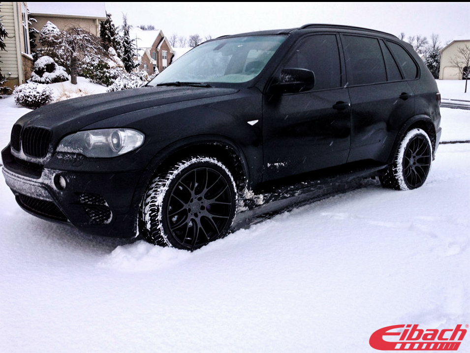 BMW E70 X5 Eibach Springs MatteBlack Eurosport Monza 20in img005