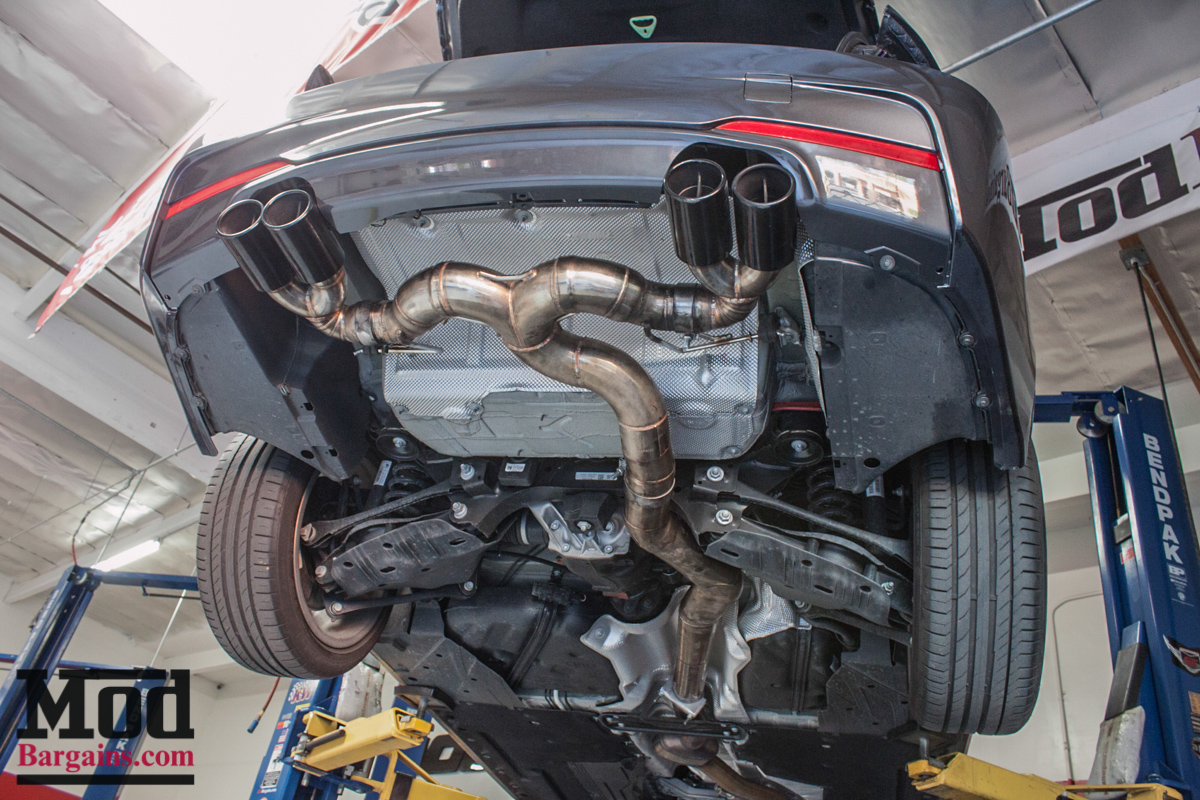 F30 Bmw 328i Gets M4 Bumpers Injen Intake Amp Exhaust