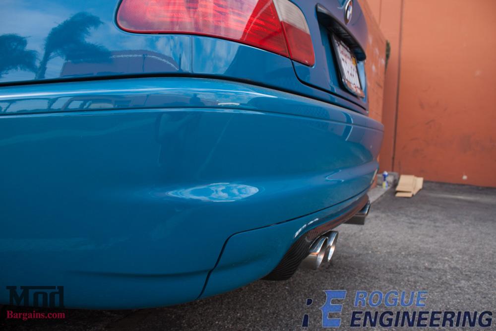 bmw_E46_m3_laguna_seca_blue_CSL_bumper_CF_diffuser_Rogue_el_diablo_exhaust (3)