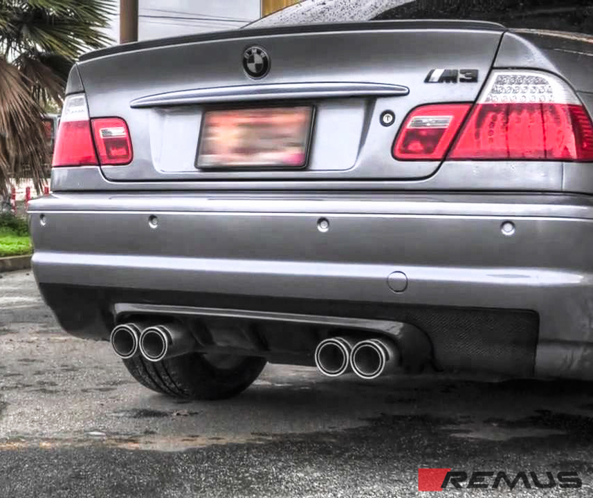 Remus Sport Exhaust System Installed on BMW F30