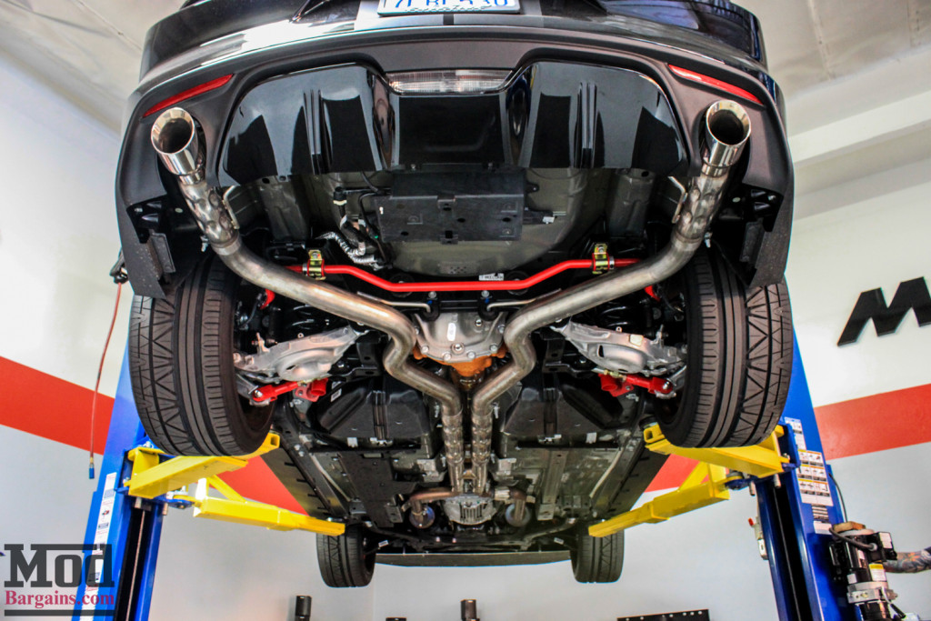 Mustang GT S550 BMR Suspension Installed