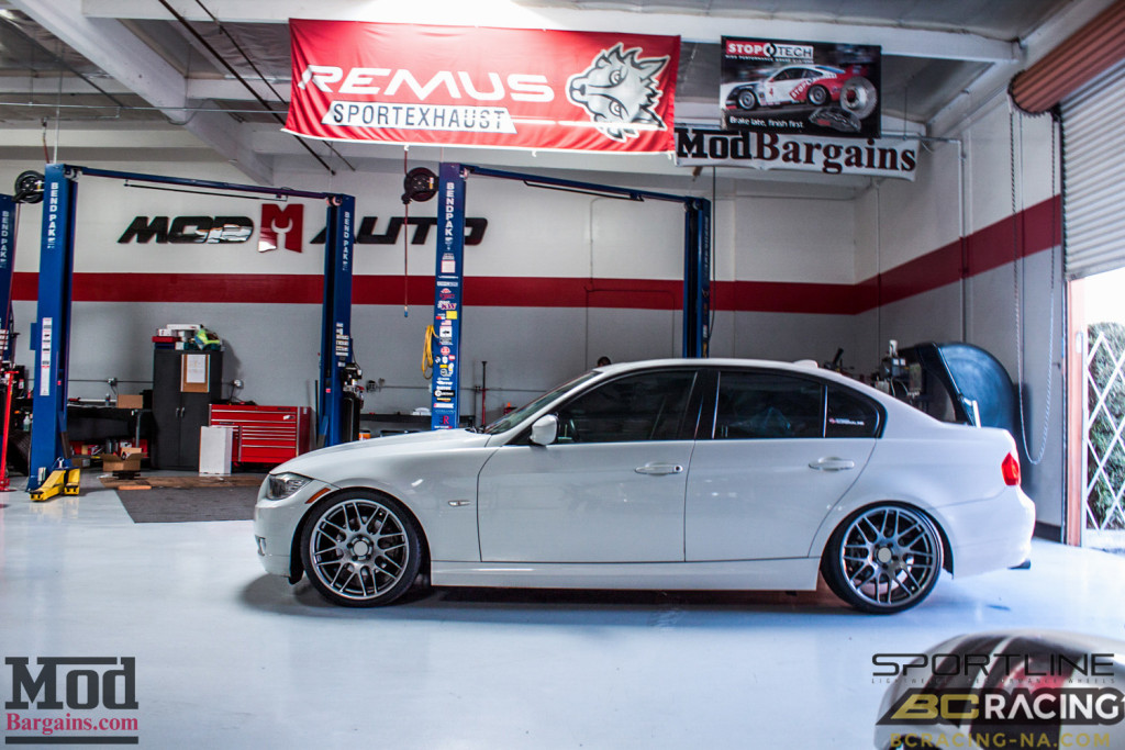 BMW E90 328i Sportline 8S BC Coilovers BMWExhaust