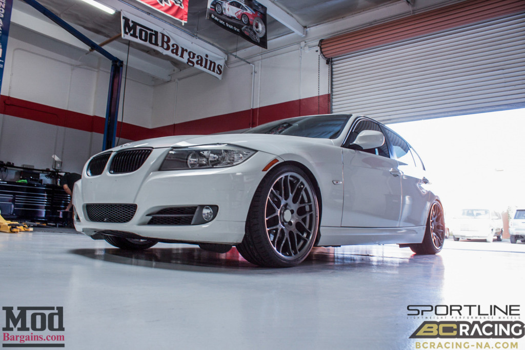 BMW E90 328i Sportline 8S BC Coilovers BMWExhaust (2)
