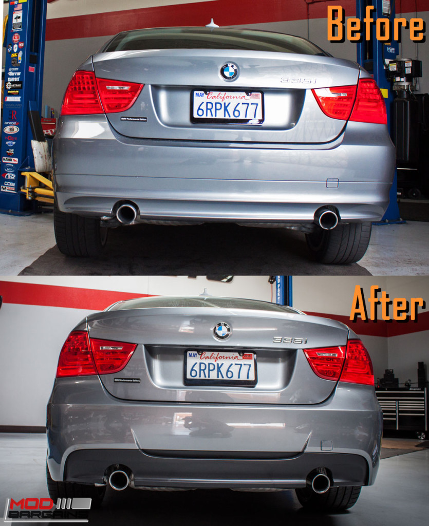BMW_E90_335i_Msport-rear-bumper-before-after