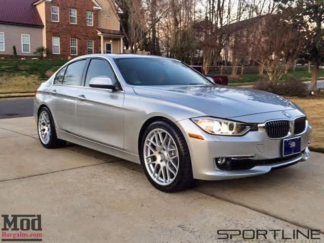 BMW F30 335i Sportline 8S Silver 19x85et35 19x95et45 (3)
