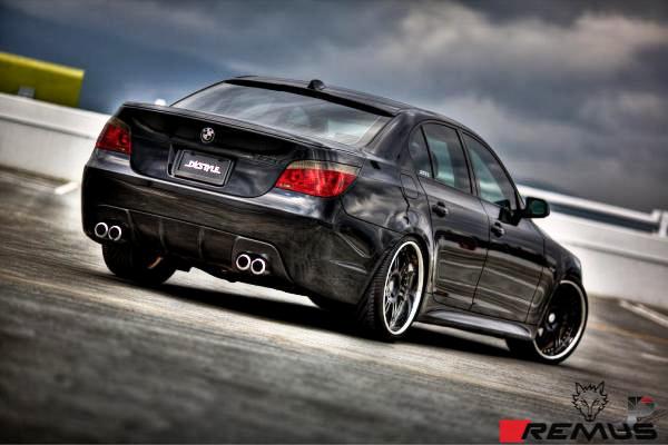 BMW_E60_530i_Remus_Quad_Exhaust_img001