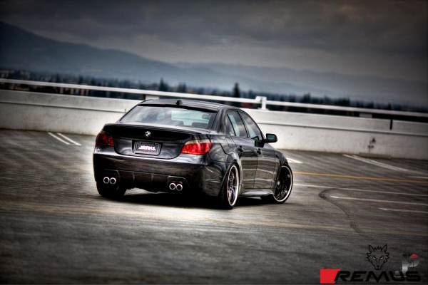 BMW_E60_530i_Remus_Quad_Exhaust_img002