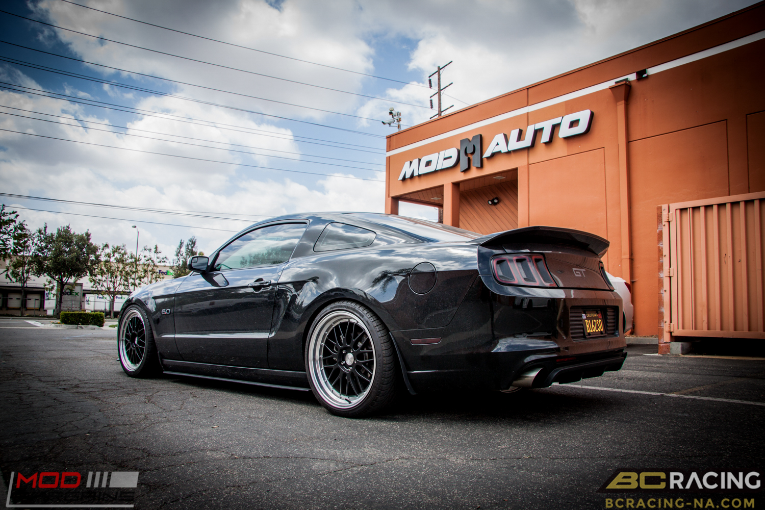 S197 Ford Mustang Gt Lowered On Bc Coilovers