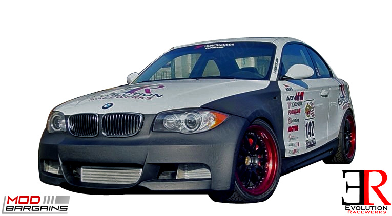 BMW 128i 135i 1M Front End Widebody Bumper