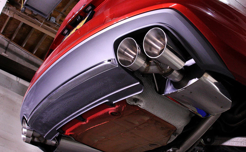 Milltek Exhuast Audi B S Img on Exhaust System Components