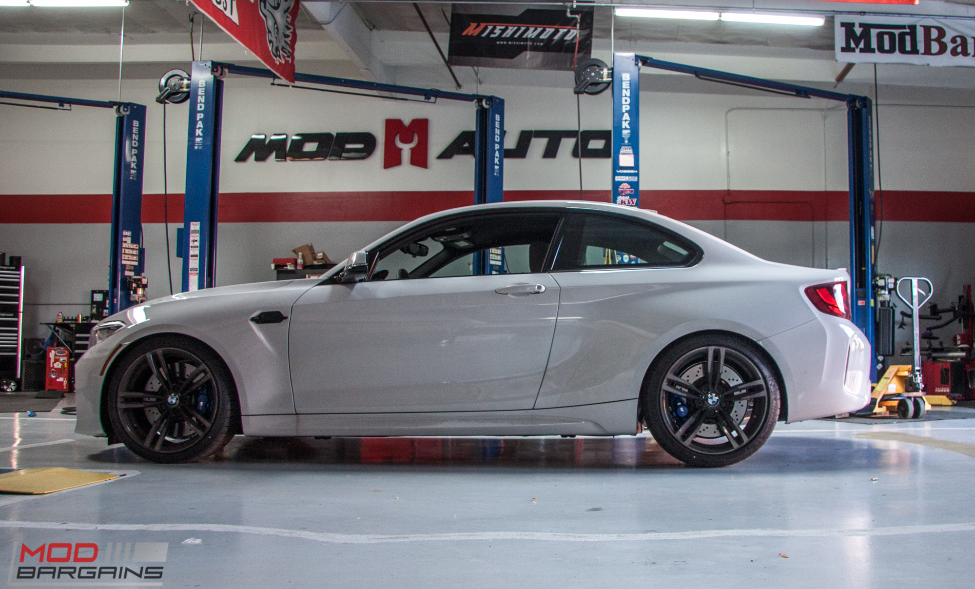 2017 Bmw 335i >> F87 BMW M2 gets BMW Performance Coilovers & Black Accents @ ModAuto