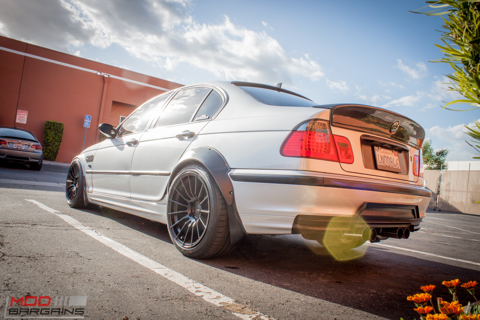 spotted widebody bmw 328i e46 sedan m3 tribute. Black Bedroom Furniture Sets. Home Design Ideas